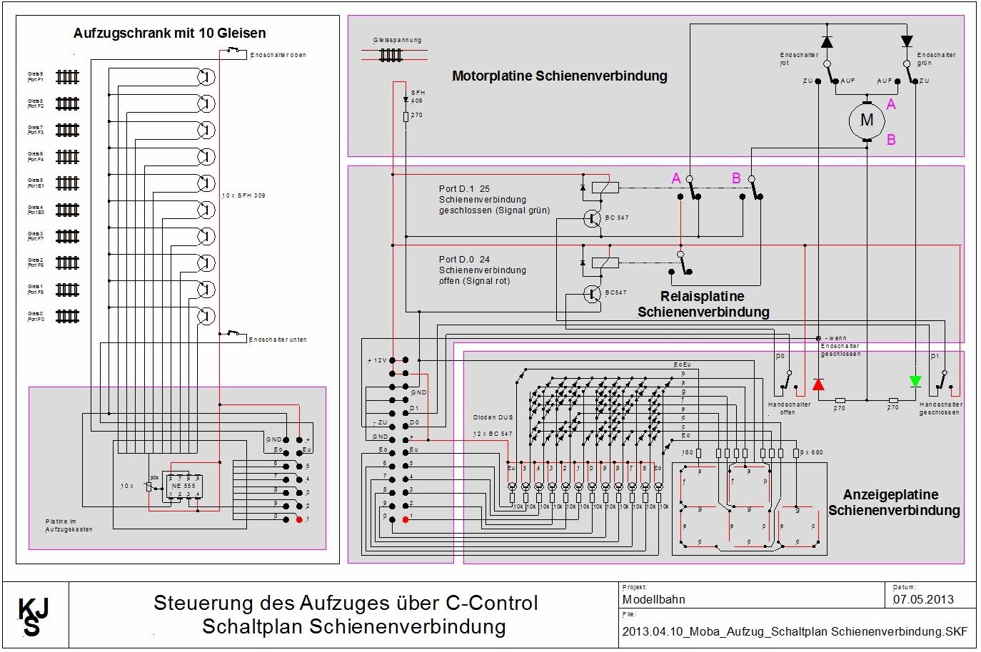 Berühmt 12 Spur Verkabelung Zeitgenössisch - Der Schaltplan ...