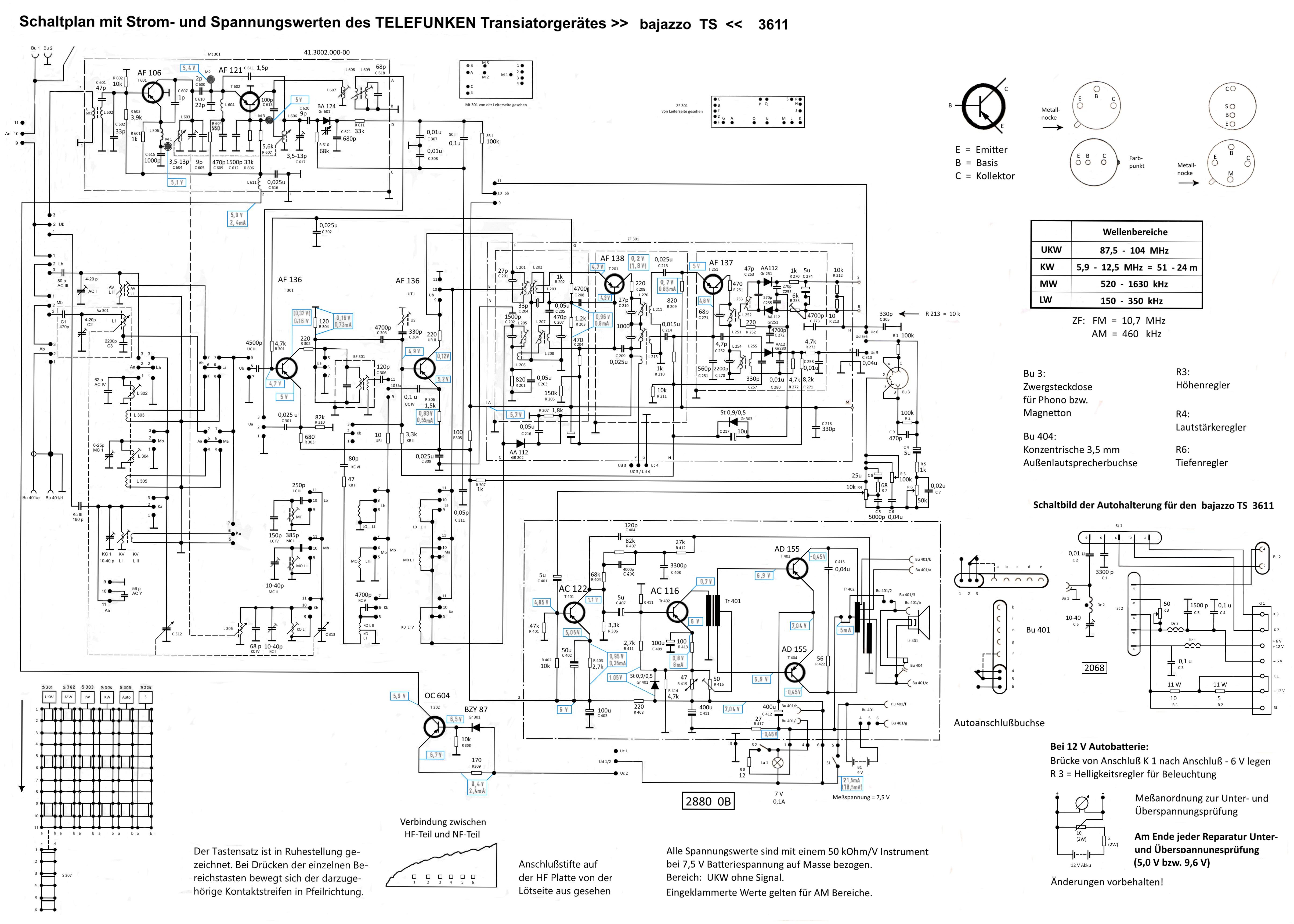 Berühmt Schaltplan Für Die Anhängerzugelektrik Bilder - Schaltplan ...