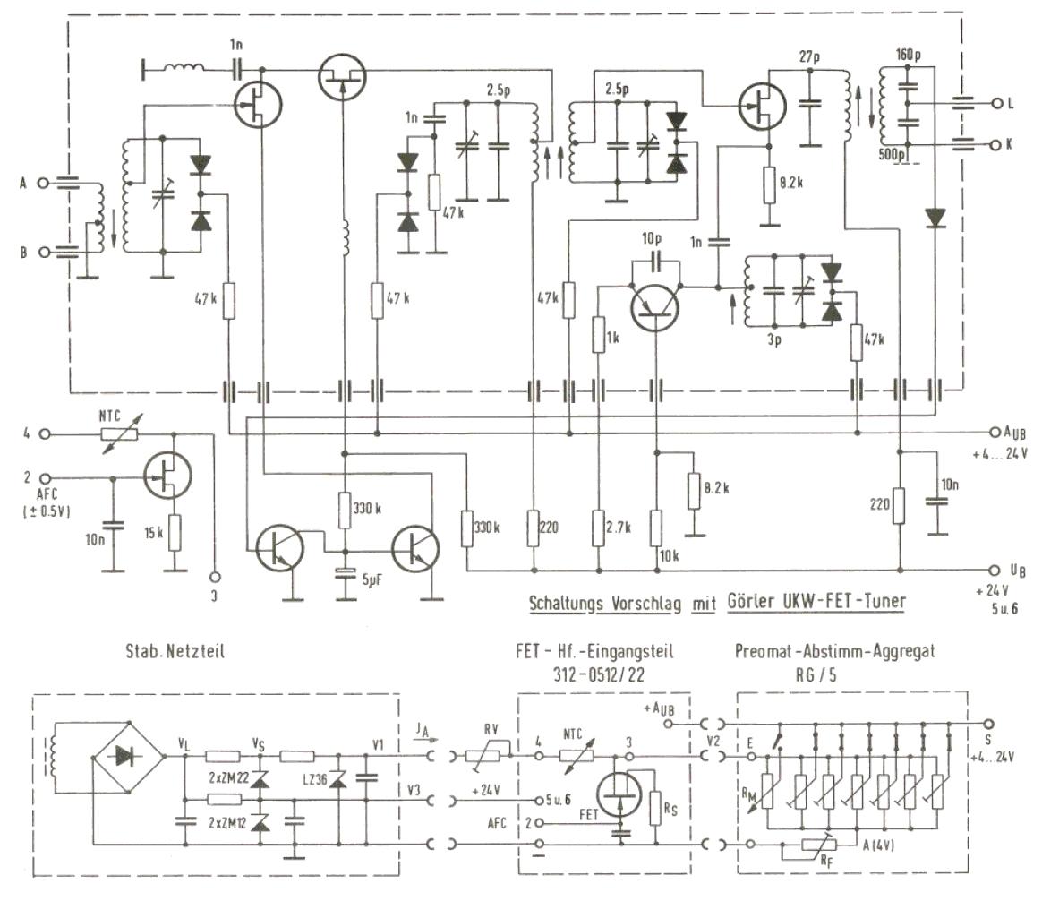 Fein Elektronik Schaltungen Projekte Bilder - Schaltplan Serie ...